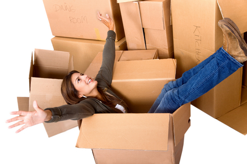 dreamstime_woman in a box